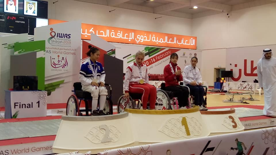 CDM sharjah podium